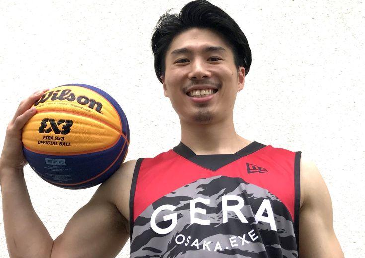 3x3に参戦した今野翔太の熱い夏(前編)「バスケ界の阪神タイガーズを目指して」