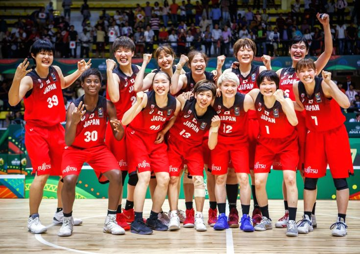 水島沙紀が後半だけで7本の3ポイントシュートを含む26得点、日本代表がオーストラリアとの激闘を制しアジア3連覇!