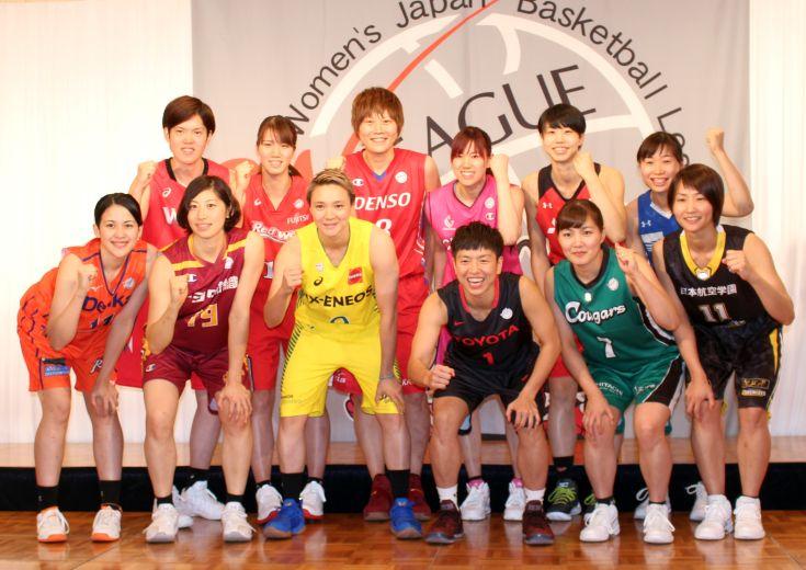 10月7日開幕のWリーグが開幕記者会見を実施、JX-ENEOSサンフラワーズ吉田亜沙美は「1試合1試合勝つことを意識して」