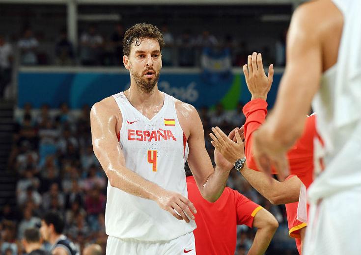 準決勝で敗れたスペインのパウ・ガソル、代表引退の可能性も