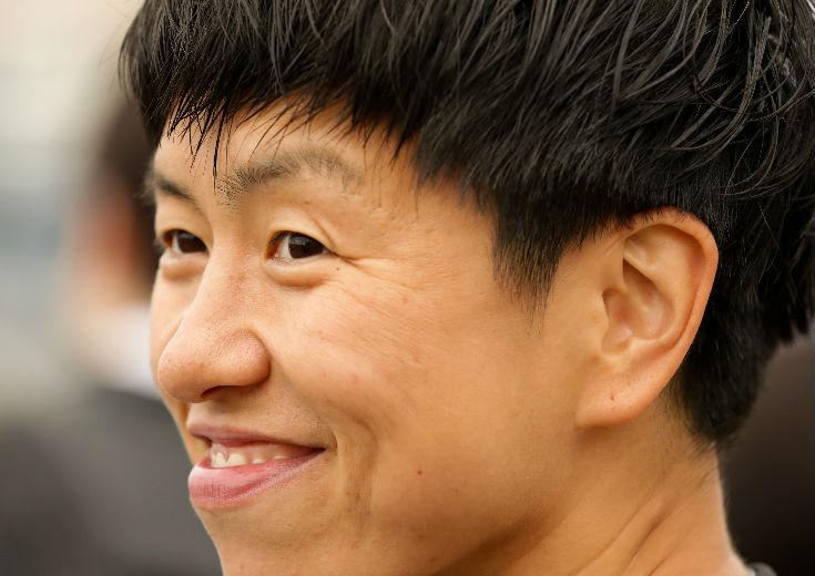チャリティイベントにゲスト出演した大神雄子「みんなが笑顔になることが大切」