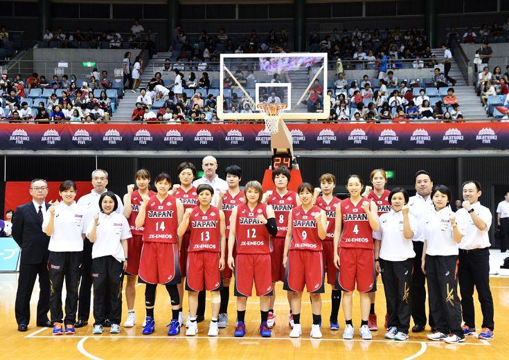 バスケットボール女子日本代表の『メダルへの挑戦』、NHK-BS1で予選リーグ全5試合生中継!