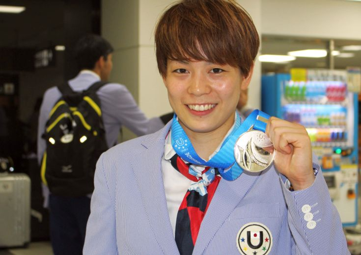 ピンチをチャンスに変えてユニバ代表に銀メダルをもたらした安間志織、次なる目標のA代表には「近づけたかな」と手応え