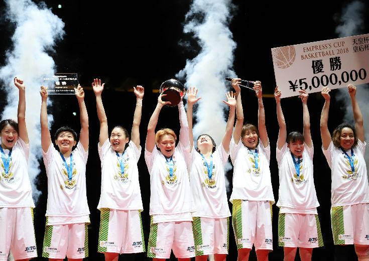 デンソーを破り皇后杯5連覇を達成したJX-ENEOSサンフラワーズの吉田亜沙美「まだこれから成長していける」