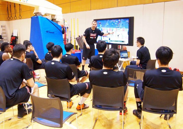 男子日本代表、Bリーグ期間中に行う重点強化合宿がスタート
