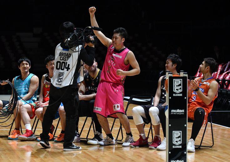 『3ポイントシュートコンテスト』1stラウンドは秋田ノーザンハピネッツの田口成浩がトップ、今日の2ndラウンドで決着!
