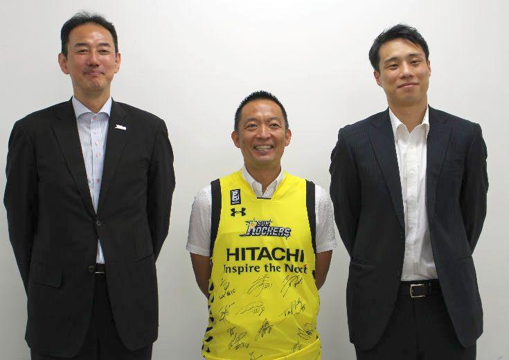 サンロッカーズ渋谷が渋谷区長を表敬訪問、渋谷の活性化とともに『応援文化の向上』について意見を出し合う