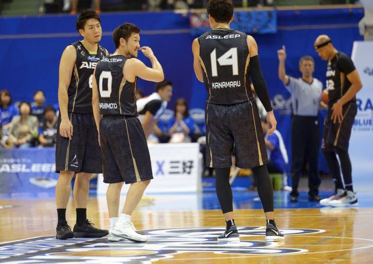 円熟のハーフコートバスケットに村上直&西川貴之の新加入組の個性が加わったシーホース三河、大阪エヴェッサに完勝!