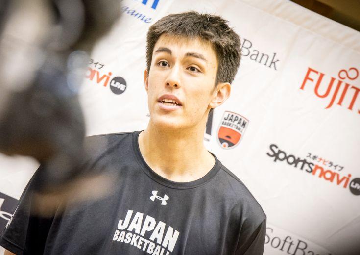 日本代表に『未完の大器』渡辺飛勇が参加「日本を勝たせられる選手に」と意気込む