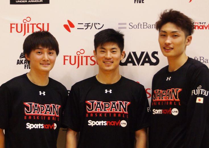男子日本代表の第8次合宿がスタート、初招集の3人がAKATSUKI FIVEでの抱負を語る