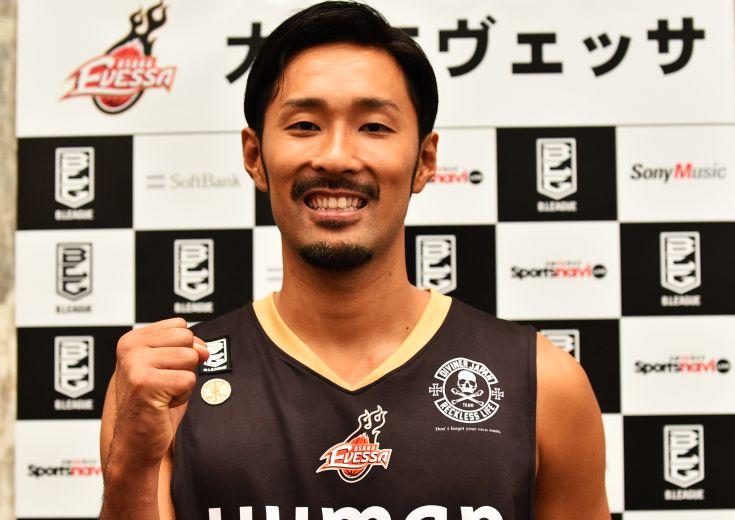 Bリーグ開幕カウントダウン 根来新之助(大阪エヴェッサ)「3大スポーツと言ってもらえるように」