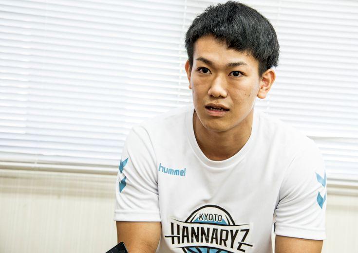 京都ハンナリーズの『秘密兵器』伊藤達哉、「ディフェンスから流れを作ることのできる選手に」と新シーズンの躍進を誓う