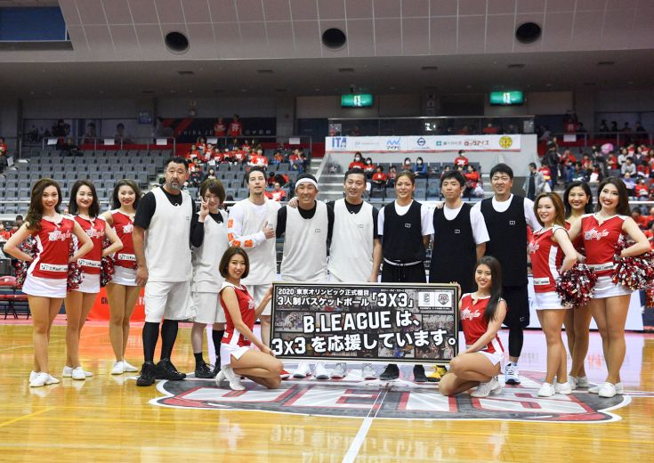 『B.LEAGUE PRESENTS 3×3 SPECIAL GAME』船橋アリーナで3x3の魅力を発信