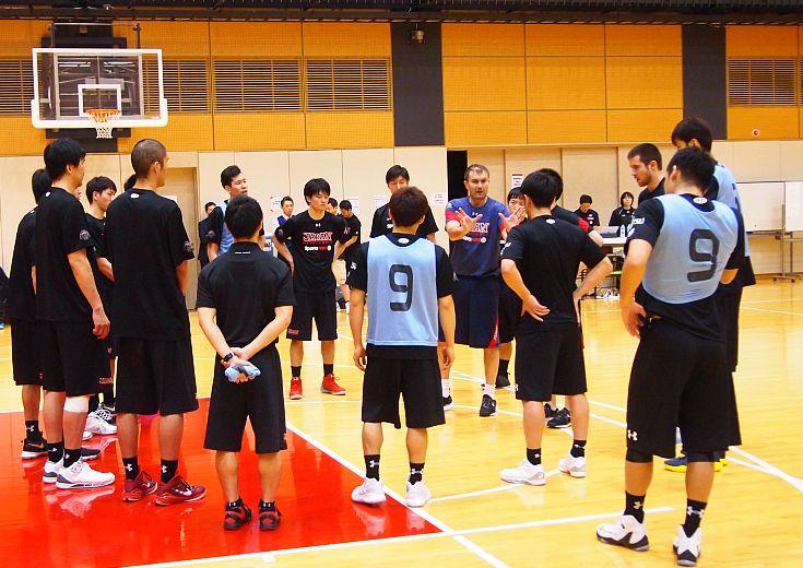 男子日本代表の第1回重点強化合宿、先週に続き25選手が参加する第2部を実施