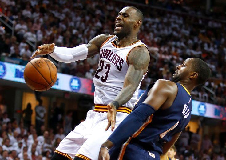 NBAプレーオフ1回戦がスタート、ポール・ジョージとの見応えある攻防をレブロンが制して王者キャバリアーズが先勝