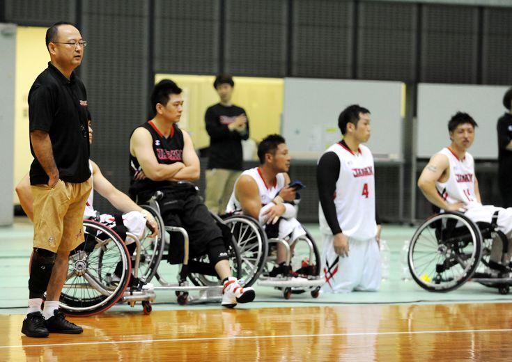車椅子バスケ男子日本代表、パラリンピックへ向けてラストスパート