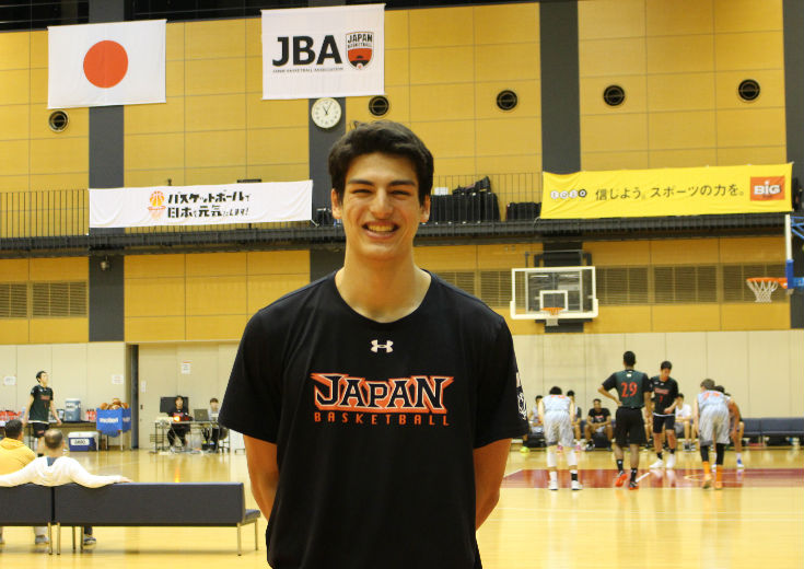 [CLOSE UP]シェーファー・アヴィ幸樹(ブリュースターアカデミー)バスケ歴3年半『できることをやる』姿勢で成長中