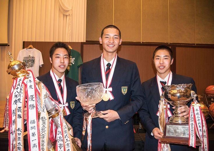 重冨周希・友希&土居光(福岡第一)『2冠』達成の原動力になったトリオが高校バスケに別れ、新たな挑戦へ