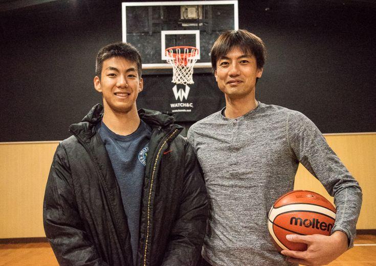 『スラムダンク奨学金』でアメリカに挑戦する鍵冨太雅の父は元JBLの選手、親子で1on1をする『リアル沢北親子』だった!
