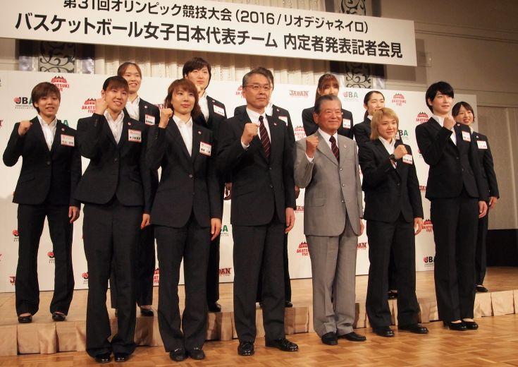 リオ五輪に向けた女子日本代表、12名の内定選手を発表