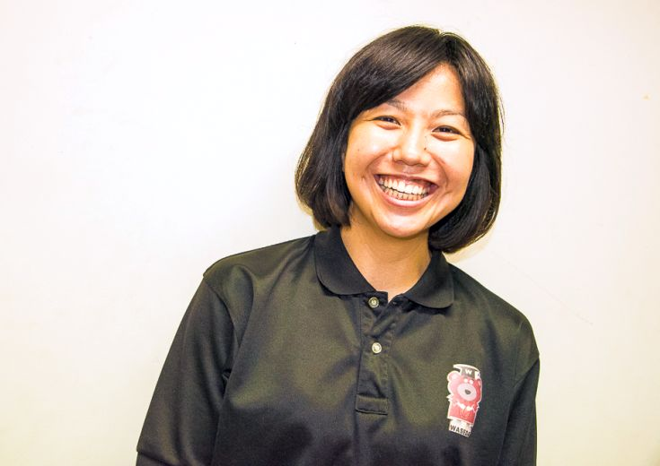 大学生の気持ち良さに魅せられた、早稲田大学の女子バスケットボール部を率いる藤生喜代美ヘッドコーチの『今昔物語』