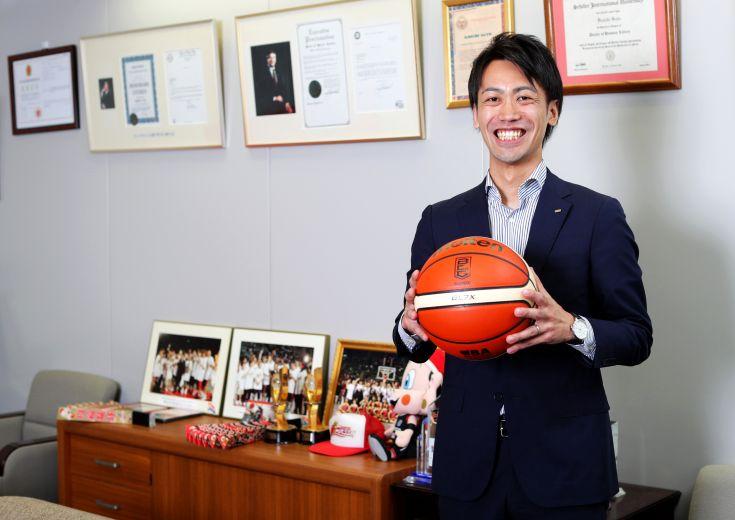 大阪エヴェッサ 安井代表に聞くvol.1 「僕らが観客動員を増やせたら、チームは勝ちます!」