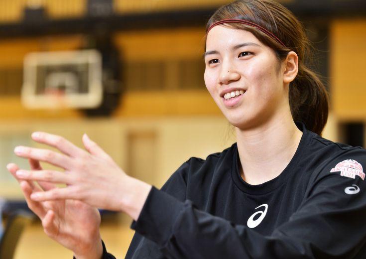 山本千夏が語るバスケ部時代vol.3「挫折があるから次に頑張れる」
