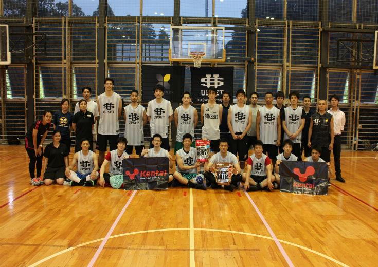 プロ選手のための合同トレーニングキャンプが玉川大学で開催される