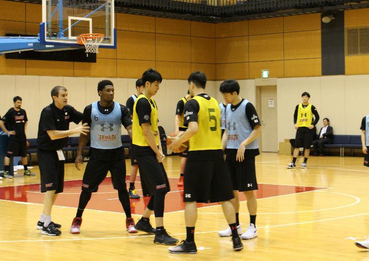 男子日本代表の第4次強化合宿、コンディション管理を重視した前回から一転『実戦に近い強度』の練習で濃密な時間を過ごす