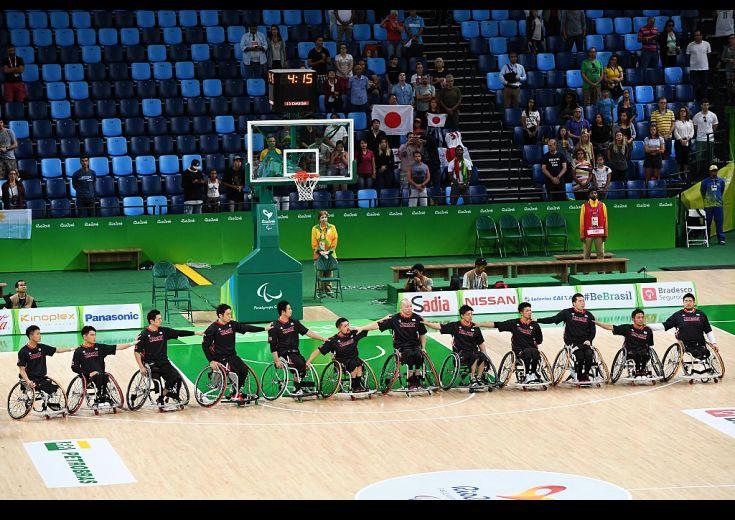 パラ出場の車椅子バスケットボール日本代表、オランダに敗れ3連敗