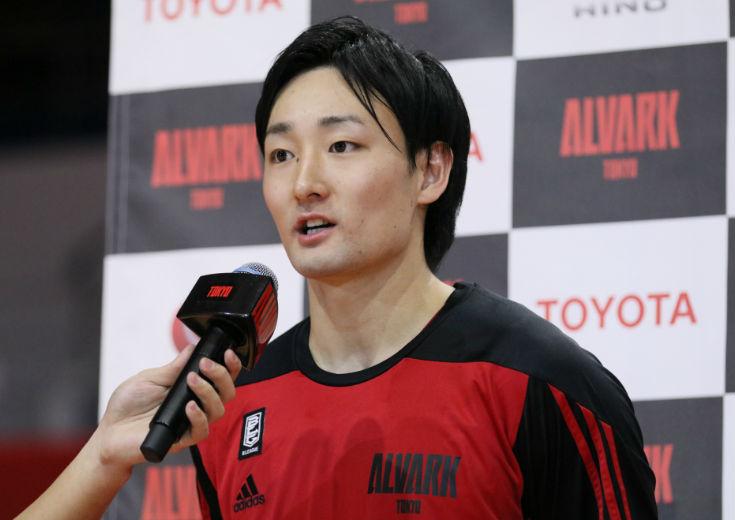『アルバルク東京のエース』の自覚を秘めた田中大貴「自信を持ってやれている」