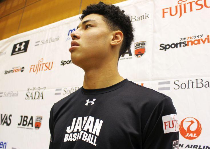 日本代表の中学生プレーヤー田中力「もう慣れたし、気楽にプレーできています」