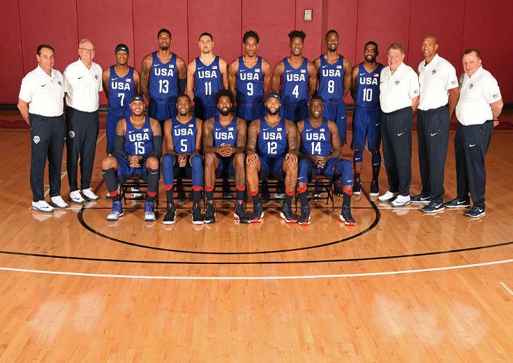 NBAのスター選手が集結した「チームUSA」の戦術は堅守速攻
