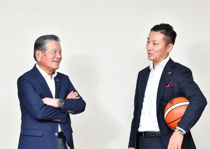 『バスケ界 改革の旗手』対談 川淵三郎×島田慎二「僕は初対面で島田さんに『チェアマンをやってくれ』と言ったんだ」
