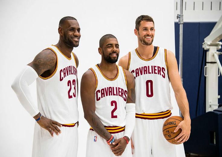NBA開幕カウントダウン キャバリアーズ~ビッグ3を中心とする絶対的なチーム力でNBA連覇を目指す