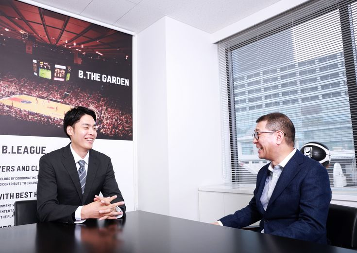 [スペシャル対談]竹内譲次×大河正明「バスケットボール界の価値を高める、息の長い仕事としてやっていきましょう」