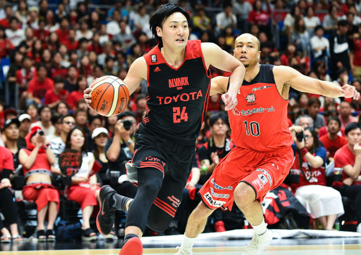 日本代表でありチームの顔、田中大貴がアルバルク東京と契約を継続