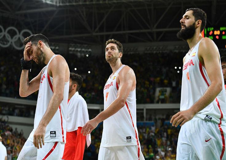 リオ五輪男子バスケットボール、欧州王者スペインがまさかの2連敗