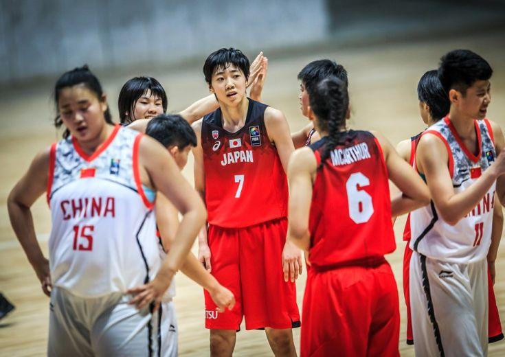 アジア選手権を戦うU16女子日本代表は中国と対戦、圧倒的なサイズ差を覆す快勝でグループ首位通過決定!
