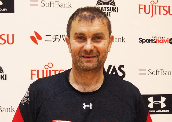 男子日本代表を暫定的に指揮するセルビア人コーチ、ルカ・パヴィチェヴィッチが掲げる、世界基準に向けた『3つのゴール』