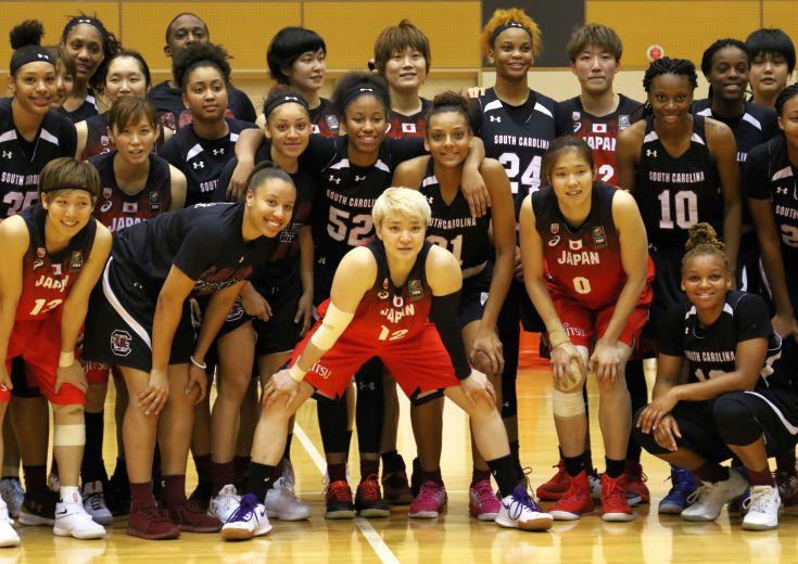 第4次強化合宿中の女子日本代表、NCAA1部強豪に3連勝しオランダとの親善試合へ