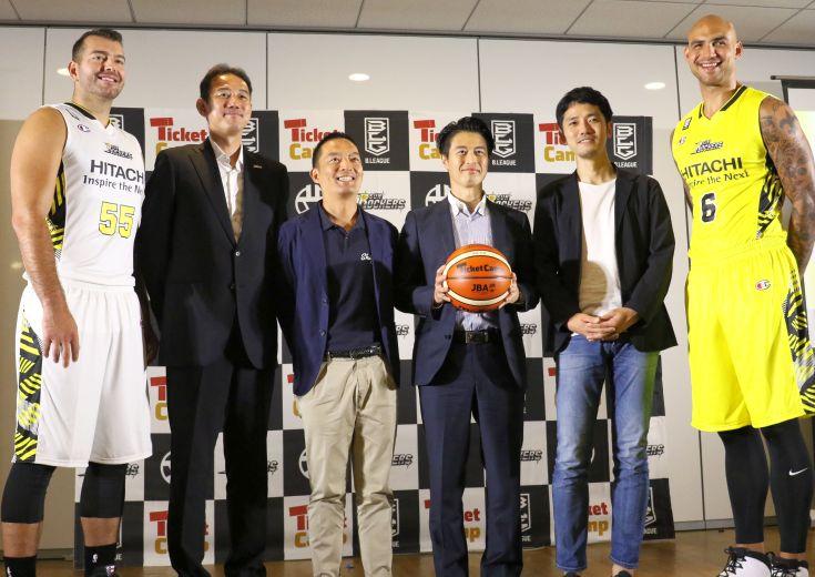 『渋谷のチーム』としての矜持を渋谷区とともにサポート、『チケットキャンプ』がサンロッカーズ渋谷のスポンサーに