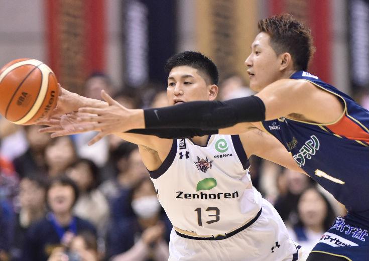 攻守がガッチリ噛み合った琉球ゴールデンキングス、横浜に38点差の完全勝利