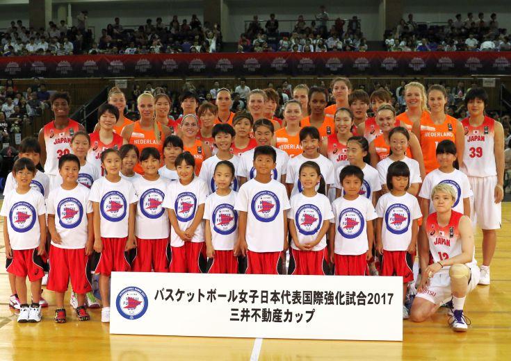 スローガンは『BE THE CHANGE』、女子日本代表を支える三井不動産の取り組み