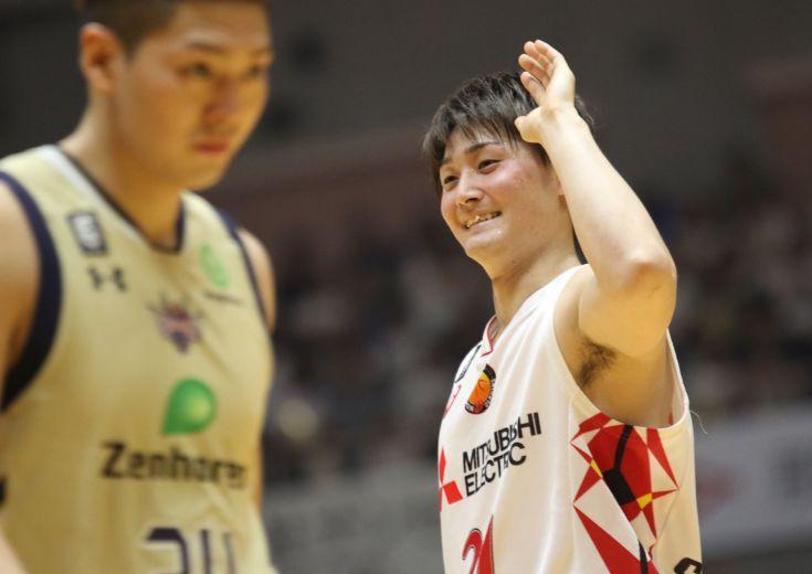 強気を貫いた名古屋ダイヤモンドドルフィンズ、琉球の猛追をしのいで第1戦に勝利