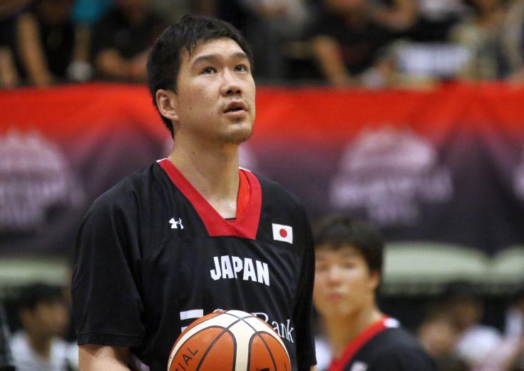 少数精鋭となった日本代表インサイド、ベテランセンター太田敦也は「競争よりも責任の重さを感じている」と闘志を燃やす