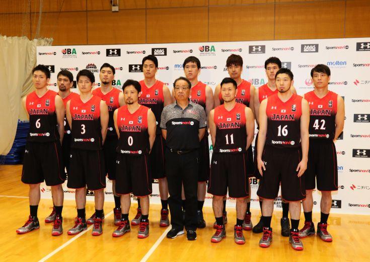 『世界への挑戦の第一歩』を踏み出す男子日本代表12名が発表される