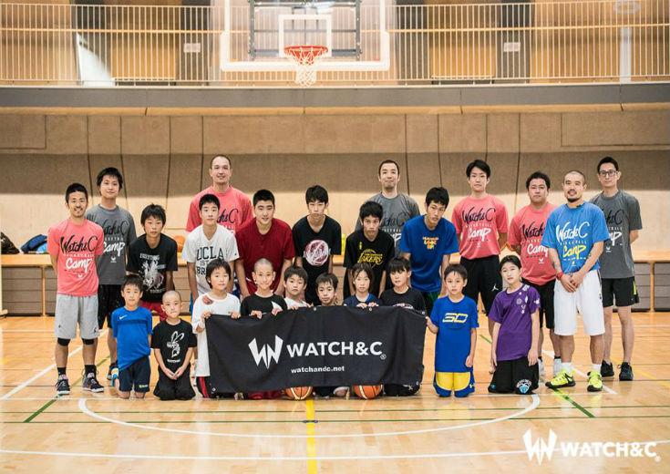 青木康平が東京の子供たちにバスケを教える『WATCH&C CAMP』をレポート