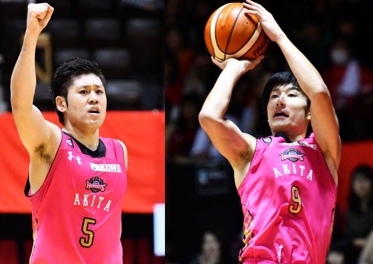Bリーグ『オールスターゲーム』に秋田ノーザンハピネッツから選出された2人、田口成浩と白濱僚祐がコメント