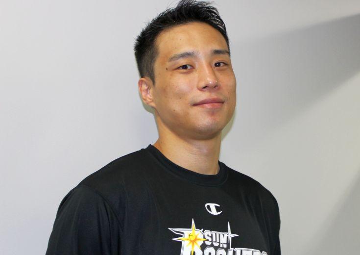 Bリーグ2年目に向け充電バッチリの広瀬健太(サンロッカーズ渋谷)「正しいバスケットIQを持ってスマートにやる」
